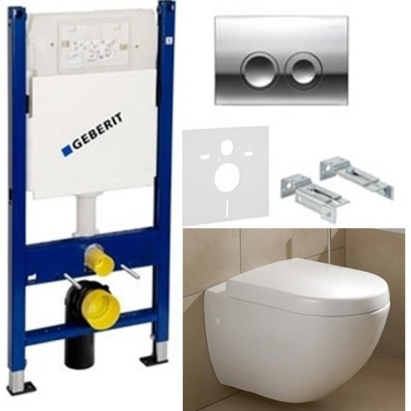 Geberit duofix 4 1 for Bosch and villeroy
