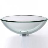 Умывальник стеклянный KRAUS GV-101-19mm