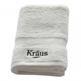 Полотенце махровое KRAUS 650x450 белое