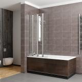 Шторка для ванны RADAWAY EOS PNW 107 стекло прозрачное (205501-101)