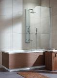 Шторка для ванны RADAWAY EOS PN 70 стекло прозрачное (205101-101R)