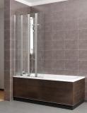 Шторка для ванны RADAWAY EOS PNW 86 стекло прозрачное (205401-101)