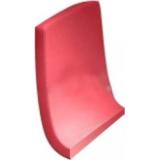 Спинка сидения для унитаза  KHROMA красная A80165AF3T