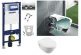 Комплект инсталляция GEBERIT DUOFIX 4в1 458.161.21.1+унитаз Villeroy&Bosch Architectura 5684HR01