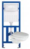 Комплект инсталляция IMEX с подвесным унитазом Kamila+сидение soft-close MTJT68+ CH1000