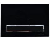 Кнопка для инсталяции CERSANIT HI-TEC черная. (P-BU-BK-Bi)