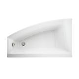 Ванна акриловая  VIRGO MAX 150x90 левая + ножки