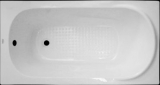 Ванна акриловая с ножками KO&PO 4051 1400х700х380