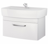 Шкафчик CERSANIT PURE для раковины PURE 80 см белый