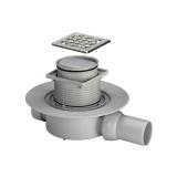 Трап для ванной комнаты 100х100 горизонт. диаметр  Advantix 583217