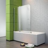 Штора для ванной Radaway EOS II PND 130x152, левая, cтекло прозрачное (206213-01L)