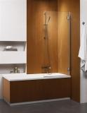 Шторка для ванны RADAWAY Torrenta PN 800х1500, правая,  стекло прозрачное 201101-101NR
