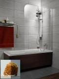 Шторка для ванны RADAWAY Torrenta PN 1010х1500, правая, графитовое стекло 201202-105NR