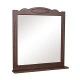 Зеркало Аквародос Классик с полкой 80 см