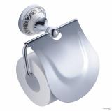 Держатель туалетной бумаги с крышкой  DEVIT CHARLESTONE CERAMIC 3051142 хром