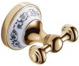 Крючок двойной DEVIT CHARLESTONE CERAMIC 3054142G золото