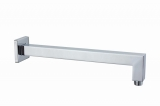 Кронштейн настенный для верхнего душа Аквародос RODOS 400 мм  001CP