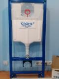Инсталляция GROHE RAPID SL 38775001 4в1 для унитаза (квадратная кнопка)
