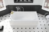 Ванна акриловая  SAGA 160x75 + ножки SN0 XWP3860