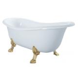 Ванна акриловая ATLANTIS C-3015 1500х700 львиные ножки - золото