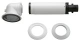 Коаксиальный дымоход для конденсационного котла Condens 2000 диаметром 60/100 мм (AZB 916)