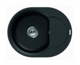 Мойка Elleci Granitek Easy Round full black 40