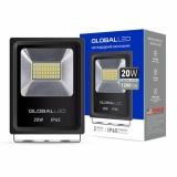 LED Прожектор GLOBAL FLOOD LIGHT 20W 5000K Холодный свет (1-LFL-002)