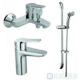 Набор смесителей для ванны 3в1 KOLLER POOL KVADRO KR0200+KR0100+KR010