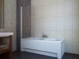 Штора для ванной KOLLER POOL QP93 750х1400 left grape