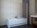 Штора для ванной KOLLER POOL QP93 750х1400 right grape