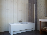 Штора для ванной KOLLER POOL QP93 750х1400 right clear