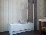Штора для ванной KOLLER POOL QP95 1150х1400 right grape