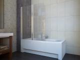 Штора для ванной KOLLER POOL QP95 1150х1400 left grape