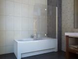 Штора для ванной KOLLER POOL QP97 1150х1400 right clear