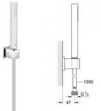 Душевой гарнитур  Euphoria Cube Stick 27702000