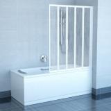 Штора для ванны  VS 5 проф. белый, грейп 794E010041