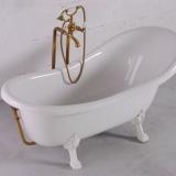 Ванна FANCY MARBLE Lady Hamilton 1730x825x645 с бронзовым переливом