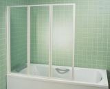 Штора для ванны  VS 3 130 проф. белый, пластик rain 795V010041