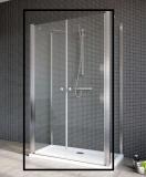 Душевая дверь RADAWAY EOS DWD+2S 1000x1970, стекло прозрачное 3799402-01