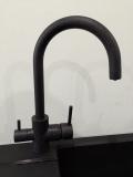 Смеситель для кухни IMPRESE DAICY 55009-UB графит