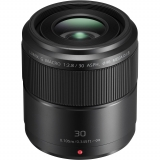 Объектив Panasonic Micro 4/3 Lens 30mm f/2.8 ASPH. MEGA O.I.S. Lumix G MACRO (H-HS030E)