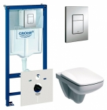 Комплект инсталляция GROHE RAPID SL 38772001+унитаз KOLO NOVA PRO M39018000 сид. soft-close