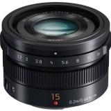 Объектив Panasonic Micro 4/3 Lens 15mm f/1.7 ASPH. Leica DG Summilux (H-X015E-K)