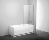Штора для ванны неподвижная  PVS 1-80 трансп. проф. сатин, стекло 79840U00Z1