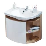 Тумбочка под умывальник RAVAK SDU Rosa Comfort X000000945 капучино/белый