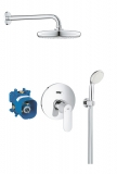 Душевой набор для ванны/душа скрытого монтажа GROHE Eurosmart Cosmopolitan 25183001
