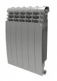 Секционный биметаллический радиатор Royal Thermo Biliner 500 Silver Satin 10 секций