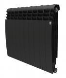 Секционный биметаллический радиатор Royal Thermo Biliner 500 Noir Sable 10 секций