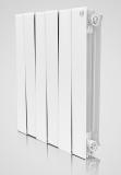Секционный биметаллический радиатор Royal Thermo Piano Forte  500/Bianco Traffico 4 секции (белый)