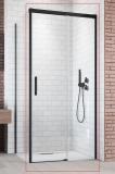 Душевая дверь RADAWAY Idea Black KDJ 1500x2005 стекло прозр., проф. черный 387045-54-01R